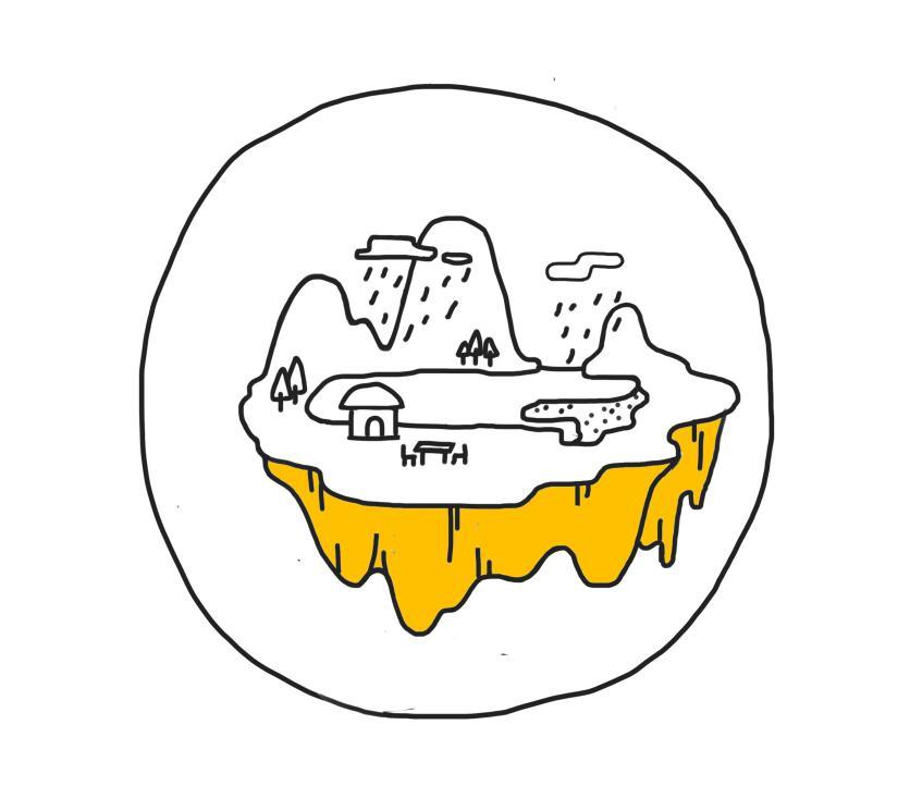 怎样画一个小岛